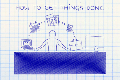 how to get things done: employee or ceo juggling tasks and