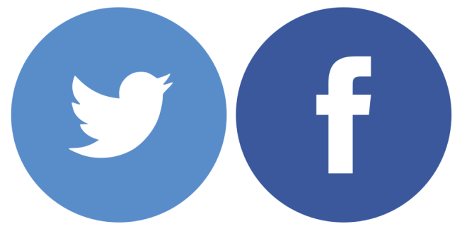facebook-and-twitter-logos