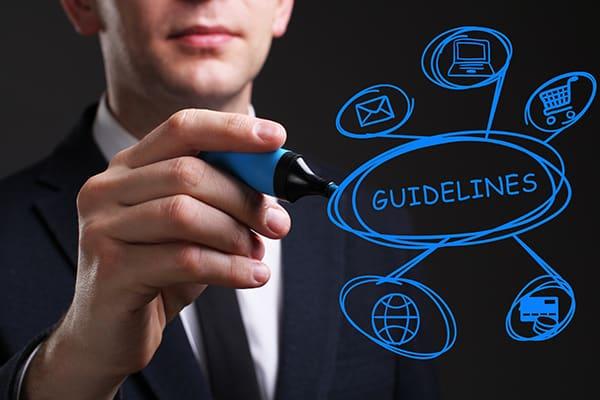 Set guidelines