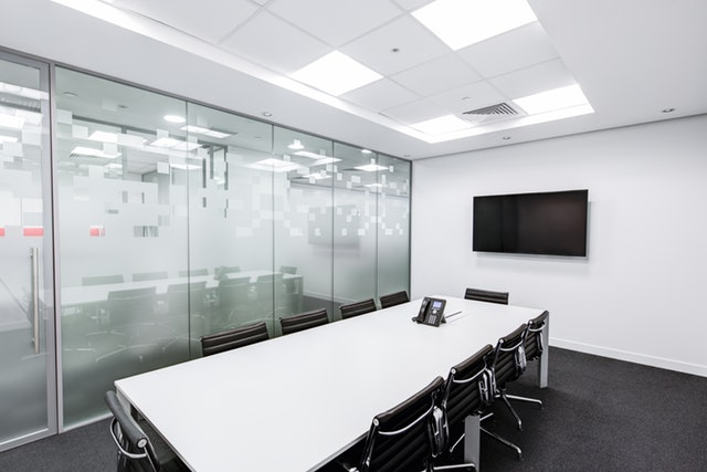 Focus on conference rooms