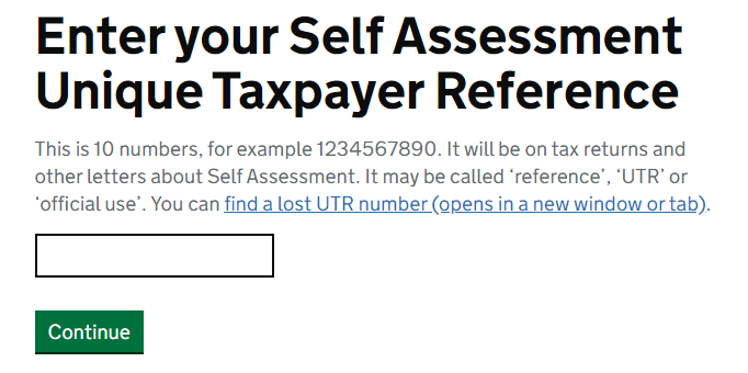 Enter your self-assessment