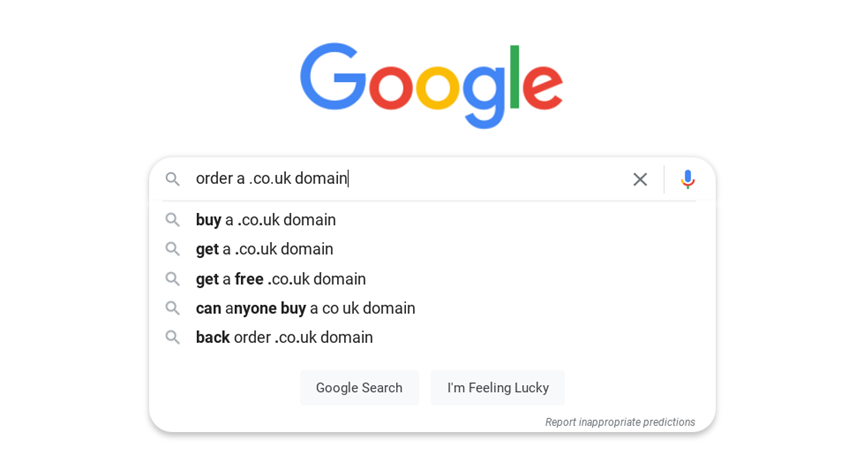 Get a .co.uk domain
